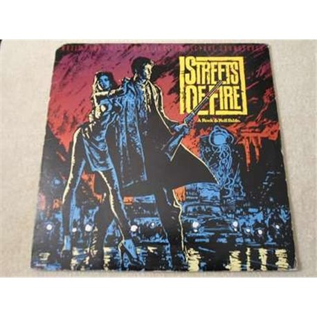 Streets Of Fire - Motion Picture Soundtrack LP Vinyl Record For Sale