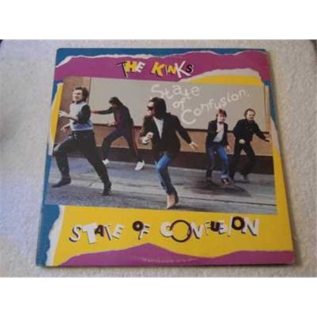 The Kinks - State Of Confusion LP Vinyl Record For Sale