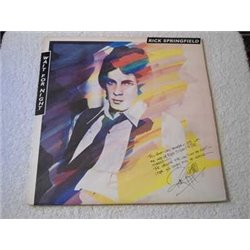 Rick Springfield - Wait For Night LP Vinyl Record For Sale