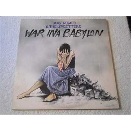 Max Romeo - War Ina Babylon LP Vinyl Record For Sale
