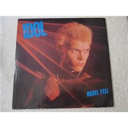 "Billy Idol - Rebel Yell 12"" Single LP Vinyl Record For Sale"