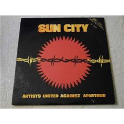 Artists United Against Apartheid - Sun City - Various Artists PROMO LP Vinyl Record Sale