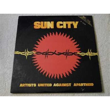 Artists United Against Apartheid - Various Artists LP Vinyl Record For Sale