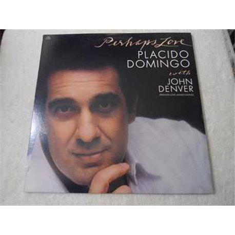 Placido Domingo - Perhaps Love With John Denver LP Vinyl Record For Sale