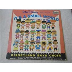 Walt Disney - It's A Small World LP Vinyl Record For Sale