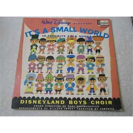 Walt Disney's - It's A Small World LP Vinyl Record For Sale