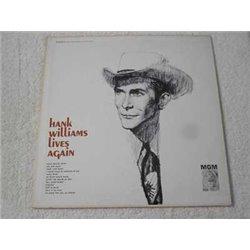 Hank Williams - Lives Again LP Vinyl Record For Sale