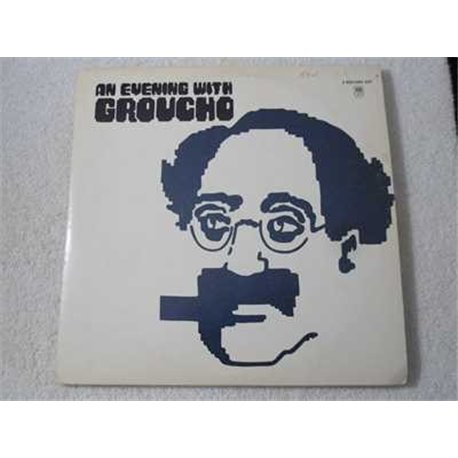 Groucho Marx - An Evening With Groucho 2xLP Vinyl Record For Sale