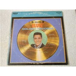 Elvis - Golden Records Volume 3 LP Vinyl Record For Sale
