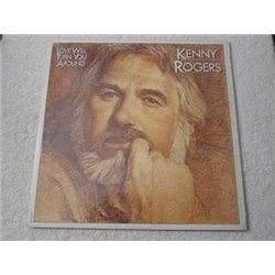 Kenny Rogers - Love Will Turn You Around LP Vinyl Record For Sale