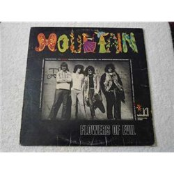 Mountain - Flowers Of Evil LP Vinyl Record For Sale