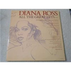 Diana Ross - All The Great Hits 2xLP Vinyl Record For Sale