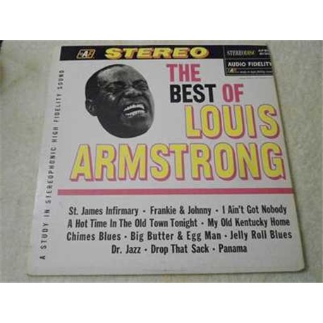 Louis Armstrong - The Best Of LP Vinyl Record For Sale