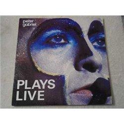 Peter Gabriel - Plays Live LP Vinyl Record For Sale