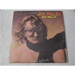 Joe Walsh - So What LP Vinyl Record For Sale