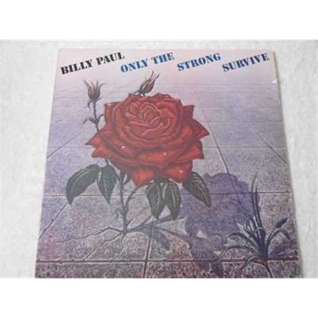 Billy Paul - Only The Strong Survive LP Vinyl Record For Sale