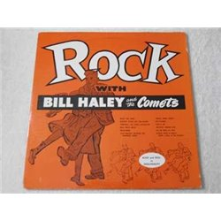 Bill Haley And The Comets - Rock With VERY RARE LP Vinyl Record For Sale