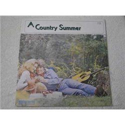 A Country Summer - Various Country Artists LP Vinyl Record For Sale