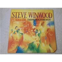Steve Winwood - Talking Back To The Night LP Vinyl Record For Sale