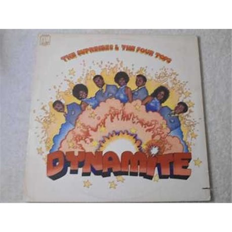 The Supremes & The Four Tops - Dynamite LP Vinyl Record For Sale