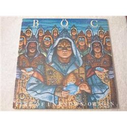 Blue Oyster Cult - Fire Of Unknown Origin LP Vinyl Record For Sale