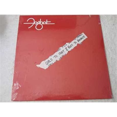 Foghat - Girls To Chat & Boys To Bounce LP Vinyl Record For Sale