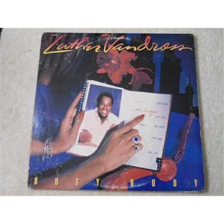 Luther Vandross - Busy Body LP Vinyl Record For Sale