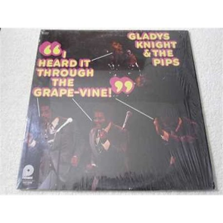 Gladys Knight & The Pips - I Heard It Through The Grape Vine LP Vinyl Record For Sale