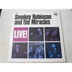 Smokey Robinson And The Miracles - Live! LP Vinyl Record For Sale