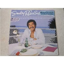Smokey Robinson - Blame It On Love LP Vinyl Record For Sale
