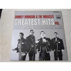 Smokey Robinson & The Miracles - Greatest Hits Vol. 2 LP Vinyl Record For Sale