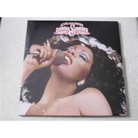 Donna Summer - Live And More 2xLP Vinyl Record For Sale