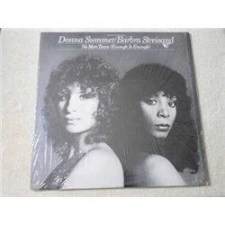 Donna Summer / Barbra Streisand - No More Tears LP Vinyl Record For Sale