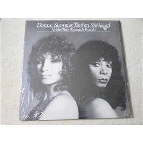Donna Summer / Barbra Streisand - No More Tears LP Vinyl Record For Sale