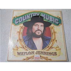 Waylon Jennings - Country Music LP Vinyl Record For Sale