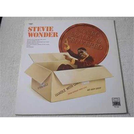 Stevie Wonder - Signed Sealed & Delivered LP Vinyl Record For Sale