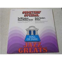 Jazz Greats - Milt Jackson / Howard McGhee / Dexter Gordon LP Vinyl Record For Sale
