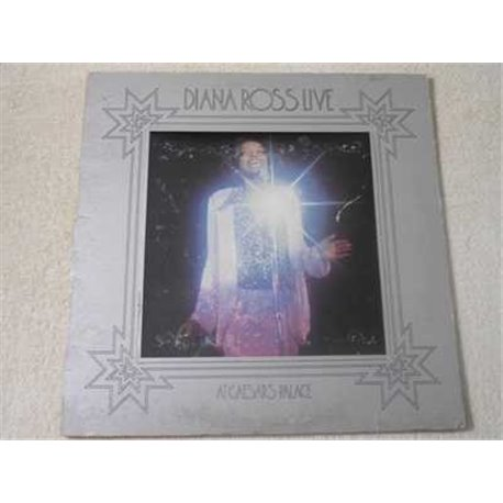 Diana Ross - Live At Caesers Palace LP Vinyl Record For Sale