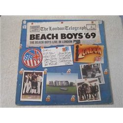 The Beach Boys - Live In London LP Vinyl Record For Sale