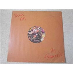 """Genesis - That's All 12"""" Single IMPORT LP Vinyl Record For Sale"""