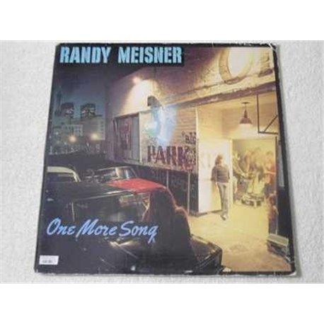 Randy Meisner - One More Song LP Vinyl Record For Sale