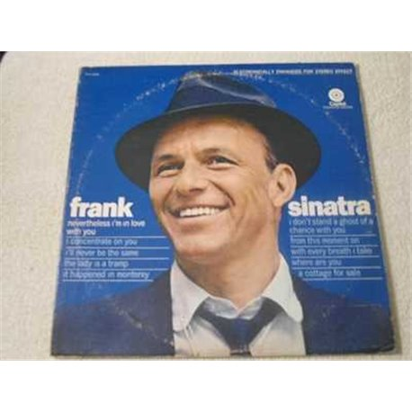 Frank Sinatra - Nevertheless I'm In Love With You LP Vinyl Record For Sale