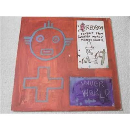 RedBoy - Contact From The Underworld LP Vinyl Record For Sale