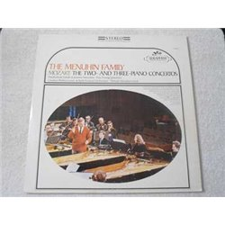 The Menuhin Family - Mozart: Piano Concertos LP Vinyl Record For Sale