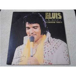 Elvis - A Canadian Tribute Yellow Vinyl LP Record For Sale