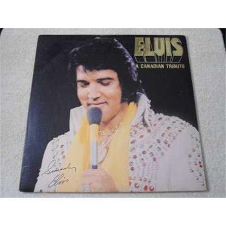 Elvis - A Canadian Tribute LP Vinyl Record For Sale