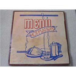 Menu - Hot Platters - Rock / Country Compilation Album 2xLP Vinyl Record For Sale