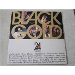Black Gold - 24 Carats - Soul Funk R&B Compilation Album 2xLP Vinyl Record For Sale