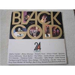 Black Gold - 24 Carats - Soul Funk R&B Compilation Album 2xLP Vinyl Record For Sale