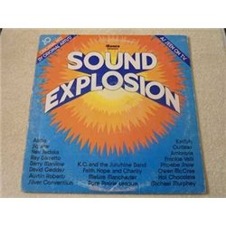 Sound Explosion - 70s Funk & Soul Compilation LP Vinyl Record For Sale